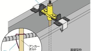 アンカーボルトの施工~位置の偏り~正しい取付け方1-2-○