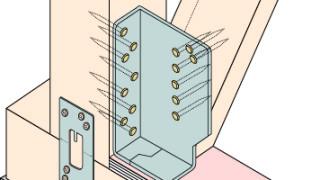 筋かい金物の施工~ボックス型の二面施工~正しい取付け方2-8-○