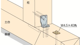 かど金物(コーナータイプ)の施工~金物の向き~正しい取付け方4-5-○