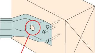 火打金物の施工~接合具の忘れ~誤った取付け方5-4-×