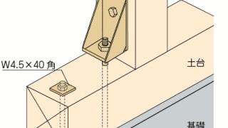 ホールダウン金物の施工~15kN用の納まり~正しい取付け方6-4-○