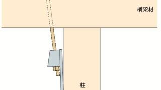 ホールダウン金物の施工~無理な納まり~誤った取付け方6-5-×