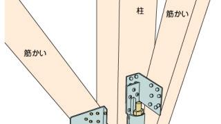 ホールダウン金物の施工~筋かい金物との干渉~誤った取付け方6-6-×