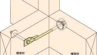 羽子板金物の施工~横架材への接触~正しい取付け方7-1-○