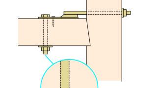 羽子板金物の施工~ナットの締め忘れ(増し締め)~正しい取付け方7-3-○