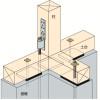 その他金物の施工~基礎パッキンの配置~正しい取付け方8-1-○