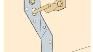 その他金物の施工~接合具の不足~誤った取付け方8-2-×